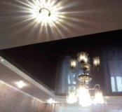 Натяжные потолки, услуги электрика