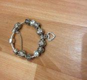 Продам браслет серебро