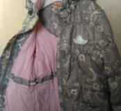 Куртка на девочку 122-128 рост