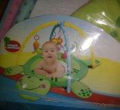 Детский коврик черепаха