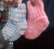 Вязанные носочки в ас-те