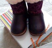 Зимним ботинки для девочки