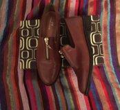 Кожаные ботинки 36р