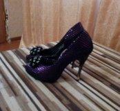 Праздничные красивые туфельки 39 р