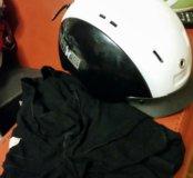 Шлем для горнолыжного катания с подшлемником