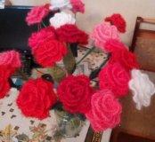 Цветы ручной работы