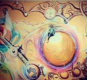 Художественная роспись детской комнаты