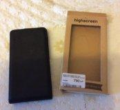 Продам флип-кейс для Highscreen Verge