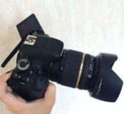 Canon 600d + объектив Tamron 17-50 mm f.2.8