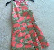 Платье из жаккарда River Island