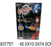 Арбалет 9823-5 A с мишенью на батар. в коробке