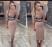 Платье + портупея