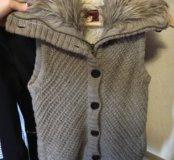очень тёплая жилетка Bershka