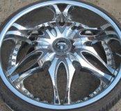Эксклюзивное литье R24 5/114,3 DUB Wheels