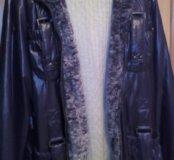 Куртка женская надевалась пару раз,размер 56
