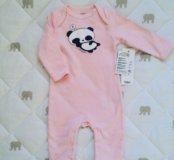 Пижамка панда новая