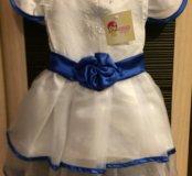 Платье новое 80-86-92 размер
