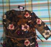 Модная блуза -новая с биркой(48-50)