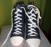 Кеды на каблуке
