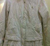 Куртка белая.