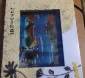 Электронный аквариум +часы