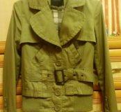 Куртка (VERO MODA), ткань-джинса