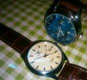 Часы наручные с датой, новые