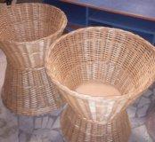 Напольные плетёные корзины