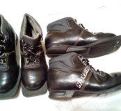 Ботинки лыжные размер 32-33