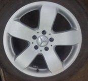 Комплект колес на mercedes r17