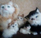 Кошки меховые