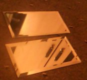 Плитка зеркальная с фацетом 10мм.