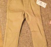НОВЫЕ брюки-чиносы для мальчика на 2 годика