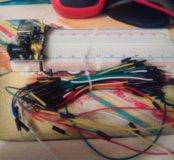 макетная плату 830 пинов + модуль питания +провода