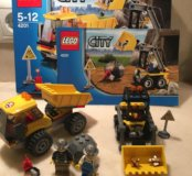Конструктор LEGO 4201 Погрузчик и самосвал