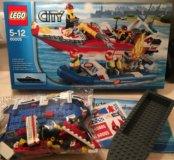 Конструктор LEGO City 60005 Пожарный катер б/у