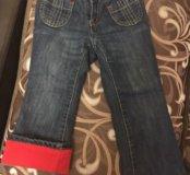 OldNavy,джинсы на флисе