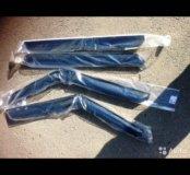 Дефлекторы (ветровики) окон на Kia Soul