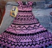 Платье плотный шелк