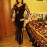 Платье вечернее бархат