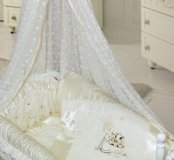 Кроватка-люлька+матрац+кпб