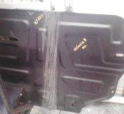 Защита двигателя skoda octavia2.