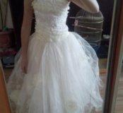 Продается бальное белое платье