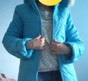 Куртка пуховик новый