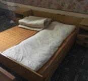 Кровати с матрасами