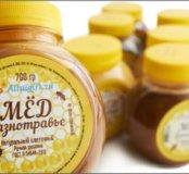 Мёд Алтайский.Цена за 3 литра.
