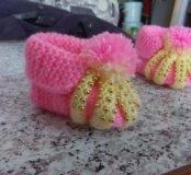 Носки вязанные ручной работы