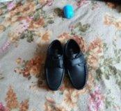 туфли -макасины на 4-6лет
