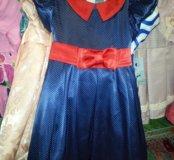 Детское, платье в горошек