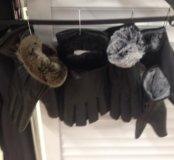 Перчатки новые!жен и муж тёплые!